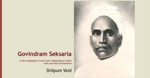 The Cotton King - Govindram Seksaria